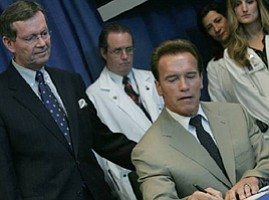 Schwarzenegger Laments Lack of Calif. Rainy Day Fund