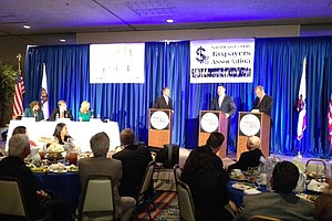 Tease photo for Filner, DeMaio Debate Convention Center Expansion Financing