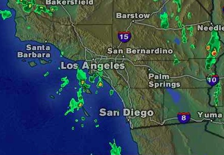 San Diego Weather Map Today.Rain Won T Dampen Wildfire Threat As Santa Ana Wind Season