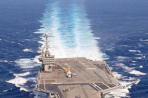 Tease photo for Four Sailors Injured During Aircraft Carrier Refueling
