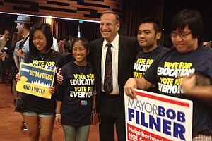 Filner Continues To Lead In San Diego Mayor's Race