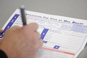 Last Chance To Request Mail-in Ballot