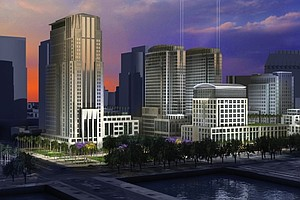 Tease photo for New City Hall On Manchester's Waterfront Could Gain Traction