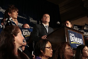 Tease photo for Filner Edges DeMaio In San Diego Mayor's Race