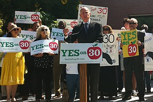 Gov. Brown's Prop 30 Tax Initiative Approved