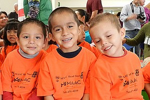 Head Start Children Get a Treat at San Diego Children's D...