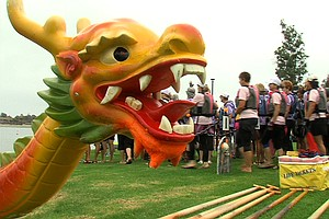 Tease photo for Dragon Boat Races Benefit Cancer Survivors