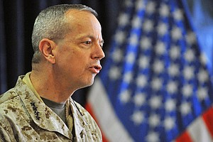 Gen. Allen Resumes Command Duty In Afghanistan