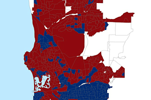 San Diego Voter Demographics Signal Permanent Power Shift, Report Says
