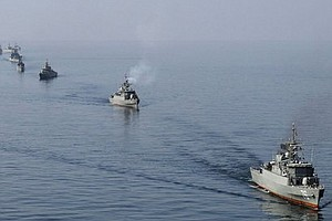 Tease photo for Iran Begins Naval Exercises In Strait Of Hormuz