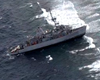 USS Guardian Crew Removed As Navy Attempts To Free Grounded Ship (V...