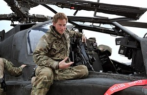 Tease photo for Prince Harry Talks Killing Taliban In Afghanistan (Video)