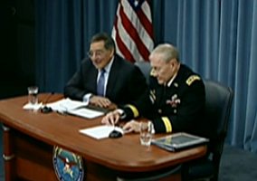 Tease photo for Panetta, Dempsey Officially Lift Ban On Women In Combat