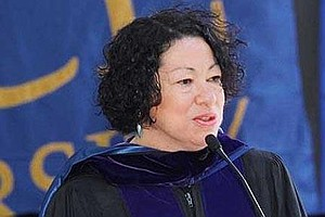 Sotomayor Tells Of Personal Hardships And Life With The Law