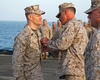 Camp Pendleton Marine Awarded Bronze Star While Deployed At Sea