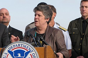 Tease photo for Napolitano Stumps For Immigration Reform At Southwest Border