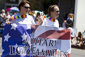 Pentagon To Extend Some Benefits To Same-Sex Military Spo...