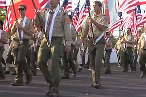 Tease photo for San Diego Eagle Scout Applaudes Review Of Boy Scouts' Gay Ban
