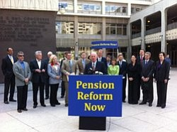 Tease photo for State Agency Rules Against San Diego's Pension Reform Initiative