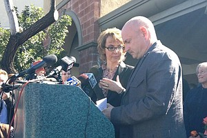 Tease photo for Giffords Pushing For Gun Background Checks