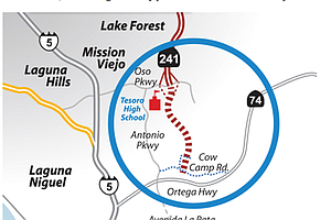 Controversial Foothill Toll Road Plan Reemerges