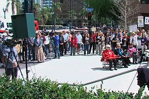 Supporters Of Traditional Marriage Rally In Downtown San ...