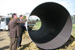 Construction Begins On Pipeline For Desalination Plant