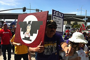 Tease photo for At Cesar Chavez Day March, Labor's New Stance On Immigration