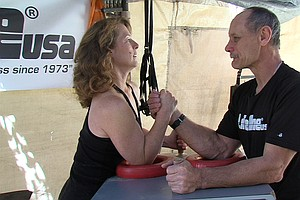 Tease photo for The Ozzie And Harriet Of Arm Wrestling