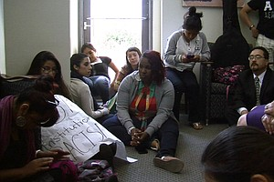 Tease photo for San Marcos Students Protest University Response to 'Cholas' Photos