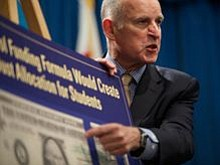 Governor Brown Pushes Fiscal Moderation In Revised Budget...