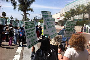 Strike Underway At UC Medical Centers