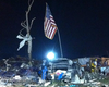 Marines Raise U.S. Flag Over Oklahoma Tornado Rubble (Video)