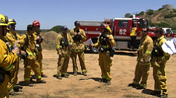 Containment Of Fire Near Julian Expected Wednesday