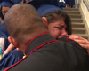 Camp Pendleton Marine Surprises Daughter At Graduation (Video)