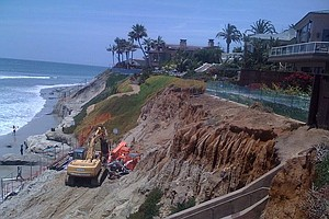 Tease photo for Encinitas, Solana Beach Leaders Propose Sand Replenishment For North County Shores