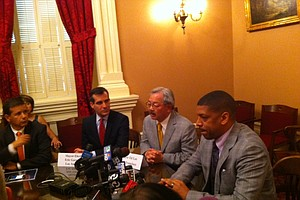 Gov. Brown, Calif. Mayors Talk Water, High-Speed Rail and...