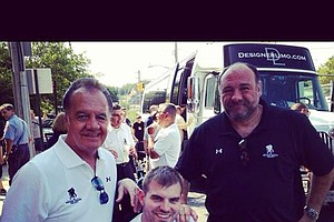 Wounded Warriors Pay Tribute To James Gandolfini (Video)