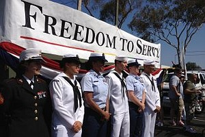 Tease photo for California National Guard Sending Recruiters To San Diego Pride