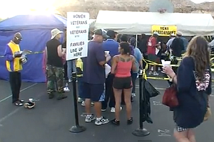 Homeless Vets Find Rest At 27th Annual Stand Down San Diego