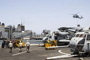 Two US Navy Ships Move Into Red Sea To Be Near Egypt