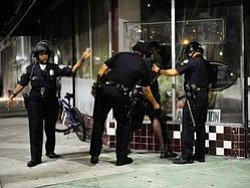 Tease photo for Zimmerman Trial: L.A. Mayor Calls For Calm, After Violent Protests
