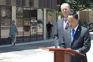 Faulconer, Gloria Say City Business Will Continue Amid Allegations