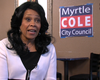 Tease photo for Councilwoman Myrtle Cole Declines To Ask Filner To Resign