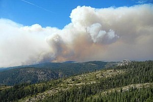 Tease photo for Wildfires Across The West Push Spending Past $1B