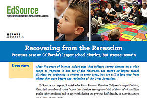 Tease photo for California Schools Under Less Pressure, But Recession Cuts Linger