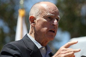 Tease photo for Senate, Calif. Governor Clash On Prison Spending