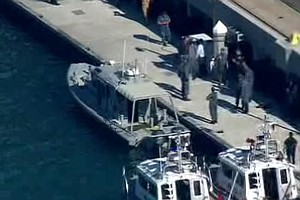 Tease photo for Foul Play Not Suspected In Navy Boat Shooting