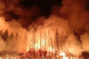 Tease photo for USFS: Hunter Caused Huge Wildfire Near Yosemite