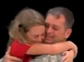 Best Of Home Post: Military Dad Surprises Daughter During...